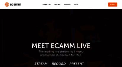ecamm.com - ecamm network  mac, iphone and ipad software & accessories
