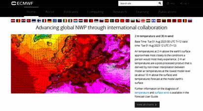 ecmwf.int - ecmwf  advancing global nwp through international collaboration