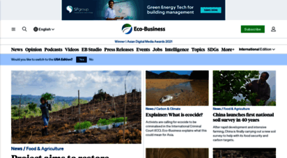 eco-business.com - eco-business.com - asia pacific´s sustainable business community
