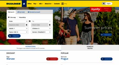 similar web sites like ecolines.net