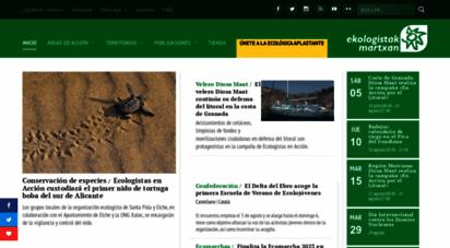ecologistasenaccion.org - ecologistas en accin