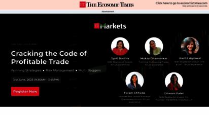 economictimes.com - business news live, share market news - read latest finance news, ipo, mutual funds news