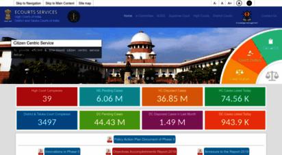 ecourts.gov.in - home - ecourt india services