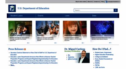 ed.gov - home  u.s. department of education