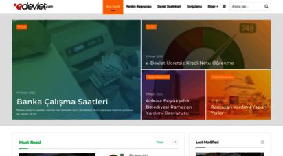 edevlet.com - e devlet  edevlet  e devlet girişi  e devlet şifresi