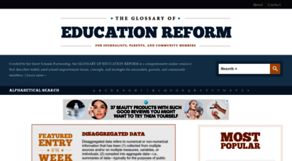 edglossary.org - the glossary of education reform -