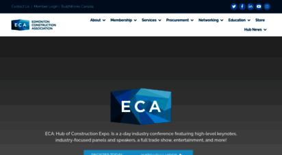 edmca.com - eca  edmonton construction ssociation