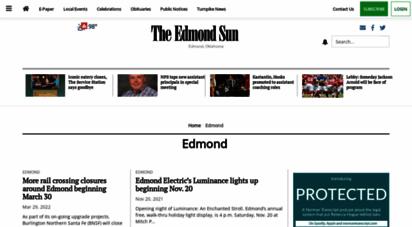 edmondsun.com - homepage » the edmond sun