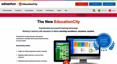 educationcity.com - edmentum international  digital learning in the classroom
