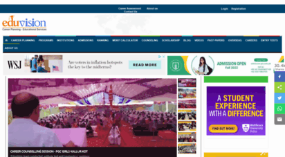 eduvision.edu.pk - eduvision - career planning and educational guidance