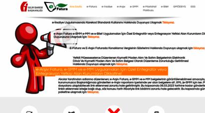 efatura.gov.tr - ana sayfa