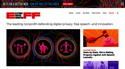 eff.org - electronic frontier foundation  defending your rights in the digital world