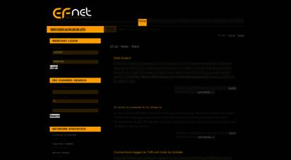 efnet.org - efnet - the original irc network
