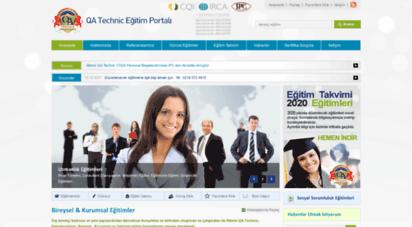 egitim-qatechnic.com - eğitim portalı - kişisel kurumsal eğitimler