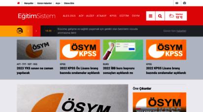 egitimsistem.com - eğitim, bilgi ve kültür sitesi  eğitim sistem haber portalı