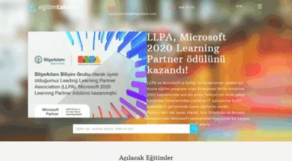egitimtakvimi.com - kurumsal it-teknoloji eğitimleri-eğitim takvimi