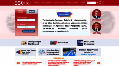 ego.gov.tr - ego genel müdürlüğü