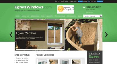 egresswindows.com - egress windows for a finished basement  meet irc code