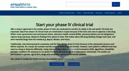 ehealthme.com - ehealthme: real-world drug outcomes