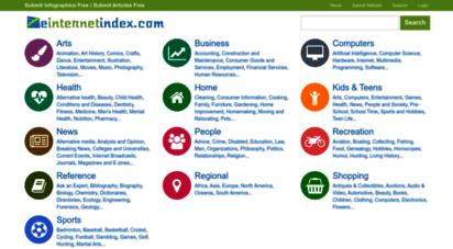 einternetindex.com - web directory  einternet index web directory