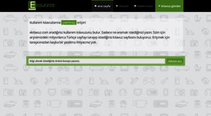 ekilavuz.com - ekilavuz.com - türkiye´nin kılavuz kaynağı.