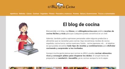 Welcome To Elblogdecocinacom El Blog De Cocina Recetas