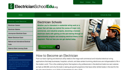 electricianschooledu.org - how to become an electrician