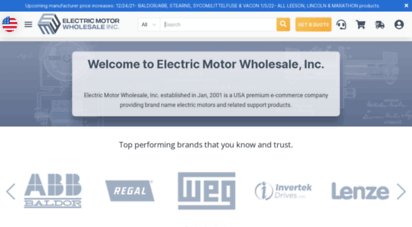 electricmotorwholesale.com -
