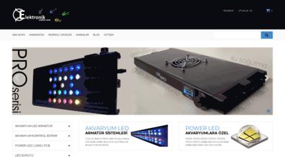 elektronikseyler.com - akvaryum led aydınlatma  gün simülasyonu  power led