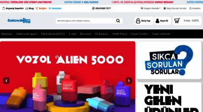 elektroniksigarashop.net - elektronik sigara shop