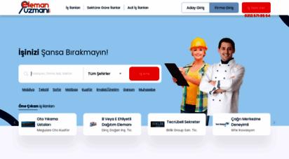 elemanuzmani.com - iş ilanları ve eleman ilanı  elemanuzmani.com