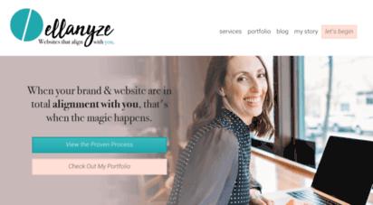 ellanyze.com - ann arbor michigan web designer / ellanyze / entrepreneurs & creatives