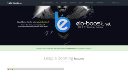 Welcome to Eloboost net - Elo-Boost net - LOL Boosting