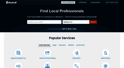 elocal.com - elocal  find anything local, any