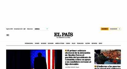 elpais.com - el país edicin américa: el peridico global
