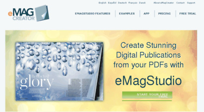 Welcome to Emagcreator dk - Online publishing - PDF to HTML5