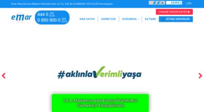 emarservis.com.tr - emar satış sonrası müşteri hizmetleri san. ve tic. a.ş.