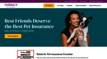 embracepetinsurance.com