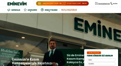 eminevim.com - faizsiz ev & konut alma nın taksitli en kolay yolu  eminevim  anasayfa