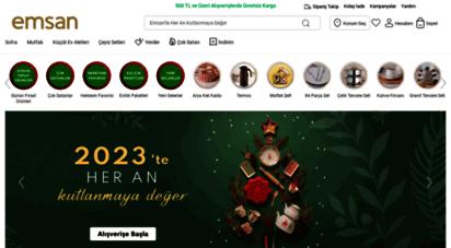 emsan.com.tr - yemek takımları - ev aletleri - mutfak ürünleri - emsan