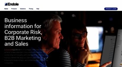 endole.co.uk - business information for corporate risk, b2b marketing & sales - endole