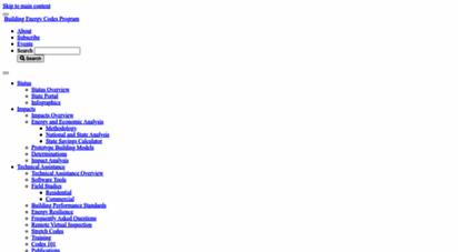 energycodes.gov - building energy codes program  becp
