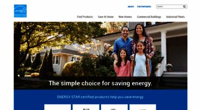 energystar.gov - energy star  the simple choice for energy efficiency.