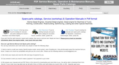 engine.od.ua - pdf manuals and spare parts catalogs