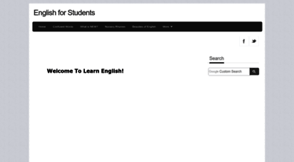 english-for-students.com - english : the best site for the students to learn english online.