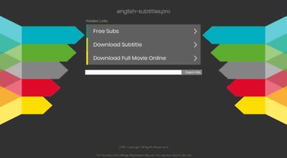 english-subtitles.pro - english-subtitles.pro