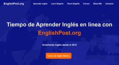 englishpost.org - englishpost.org  aprendamos inglés en linea