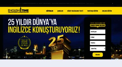 englishtime.com - english time ingilizce dil okulu  yds, toefl, sat, yökdil ve fazlası