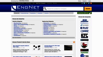 engnetglobal.com - engnet - engineering directory