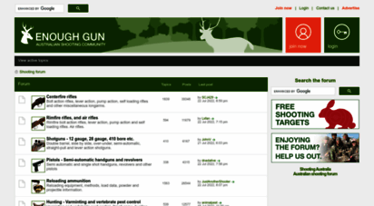 Welcome to Enoughgun com - Enough Gun • Shooting Australia